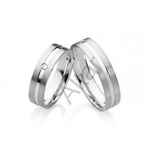 d6c5f54ad Luxusné Snubné prstene z chirurgickej ocele OC1022B   Snubné prstene ...