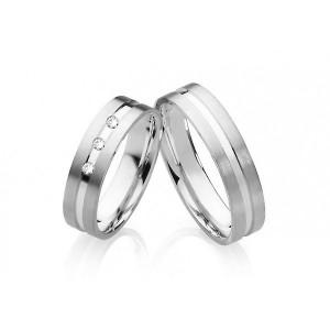 Snubné prstene z chirurgickej ocele OC1027B