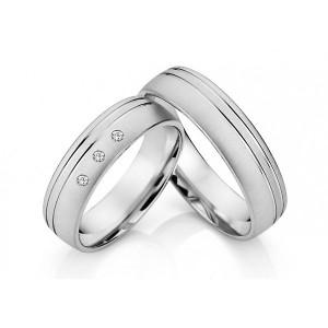 Snubné prstene z chirurgickej ocele OC1015B